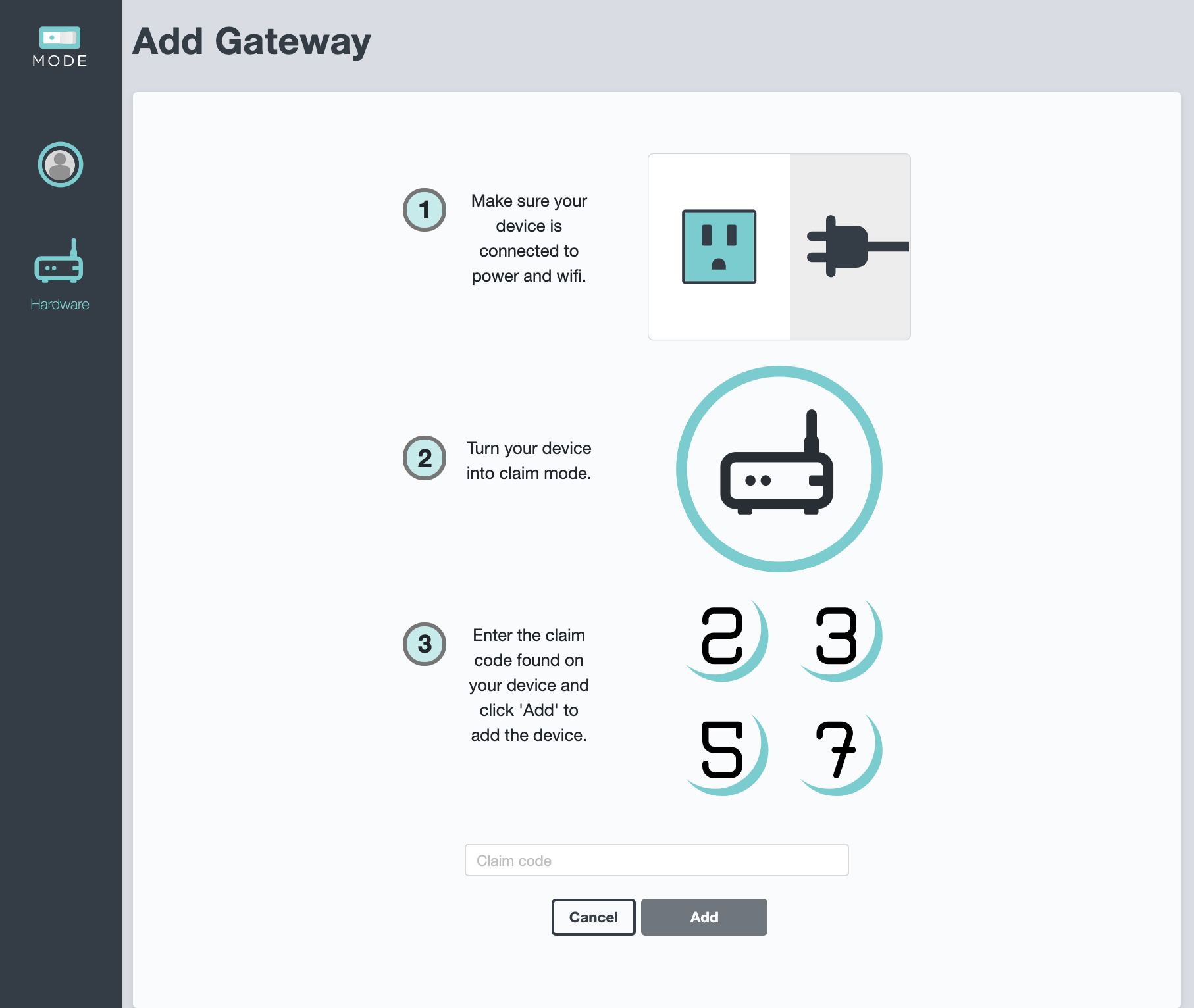 Screenshot - SC Eval Add Gateway