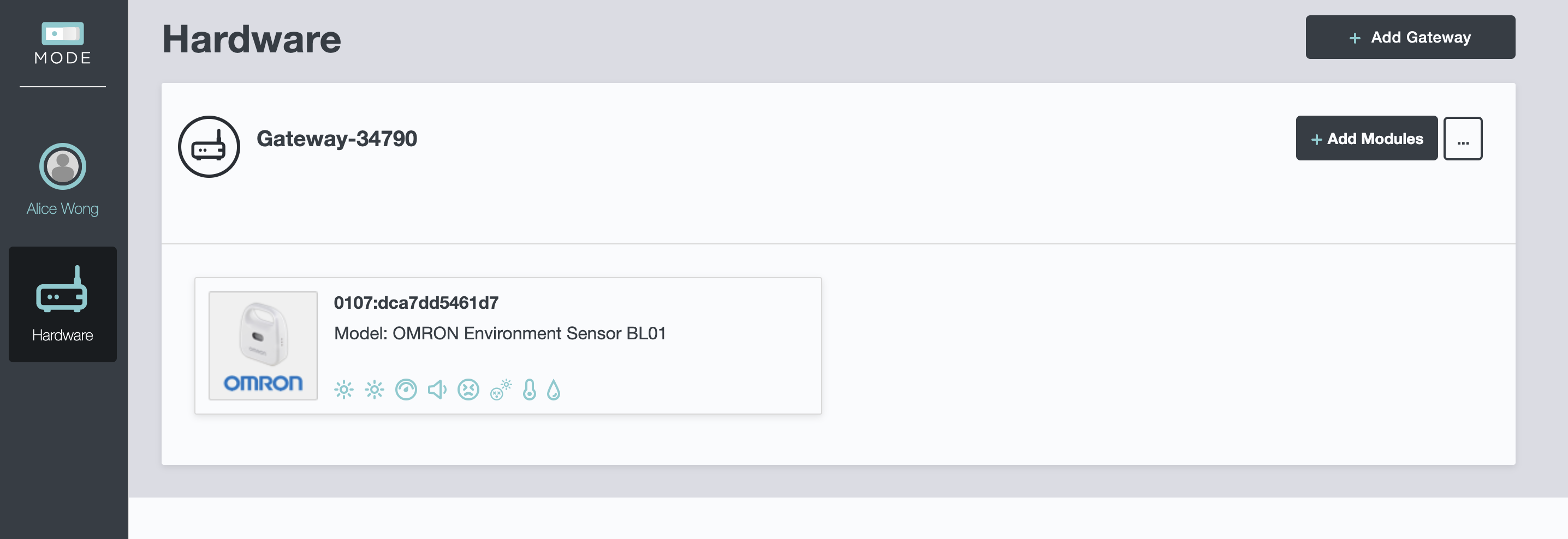 Screenshot - SC Eval Gateway with Sensor